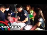 5 hurt in 3-bus collision in QC