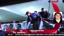 Realizan mitin en el Zócalo por normalistas de Ayotzinapa / Paola Virrueta