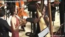 Mozart flute & harp concerto-  Mov.1 ,Gloria Park (flute) , Myung-Whun Chung, Seoul Philharmonic
