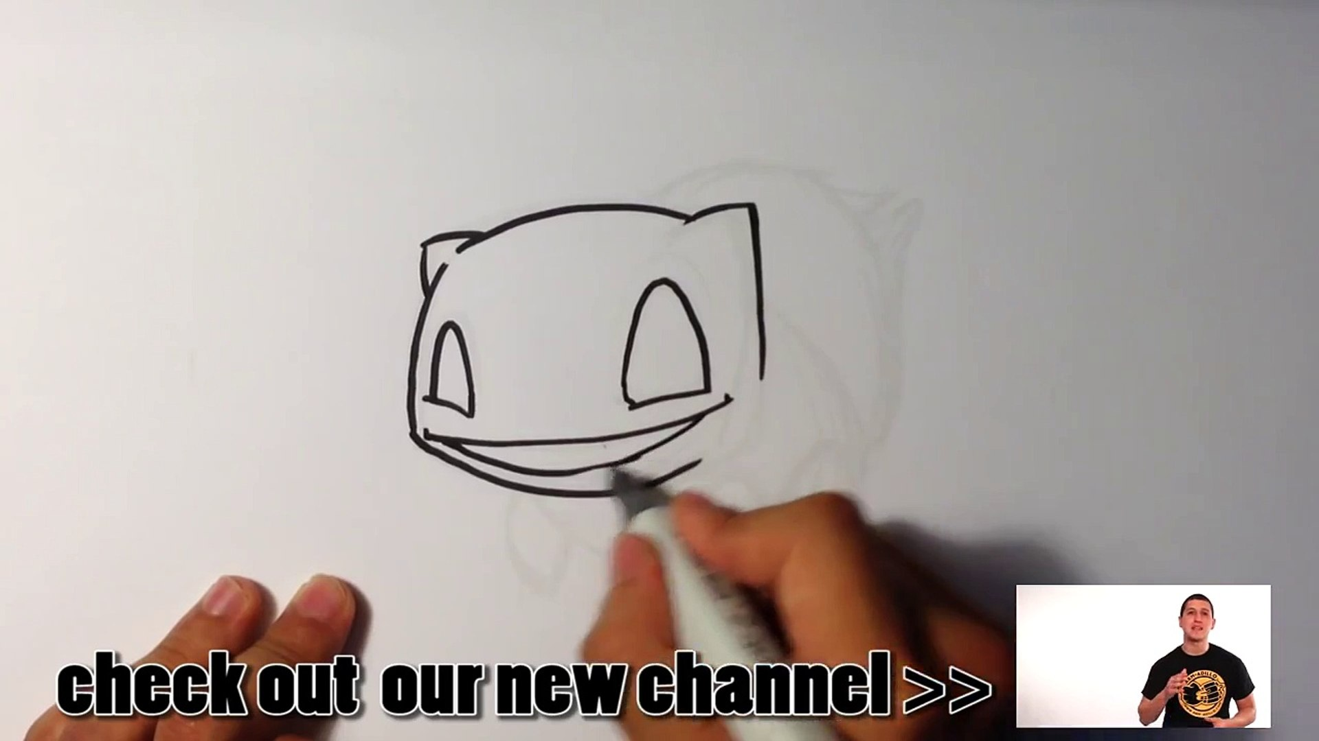 How to Draw Pokemon - Bulbasaur - Easy Things To Draw