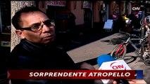 Revelan video de sorprendente atropello de peatón ocurrido en la calle Puente - CHV Noticias