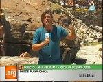 Vivo en Argentina - Mar del Plata - Playa chica - Presentación - 08-01-13