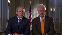 Presidents Clinton and Bush Encourage Continued Commitment to Haiti
