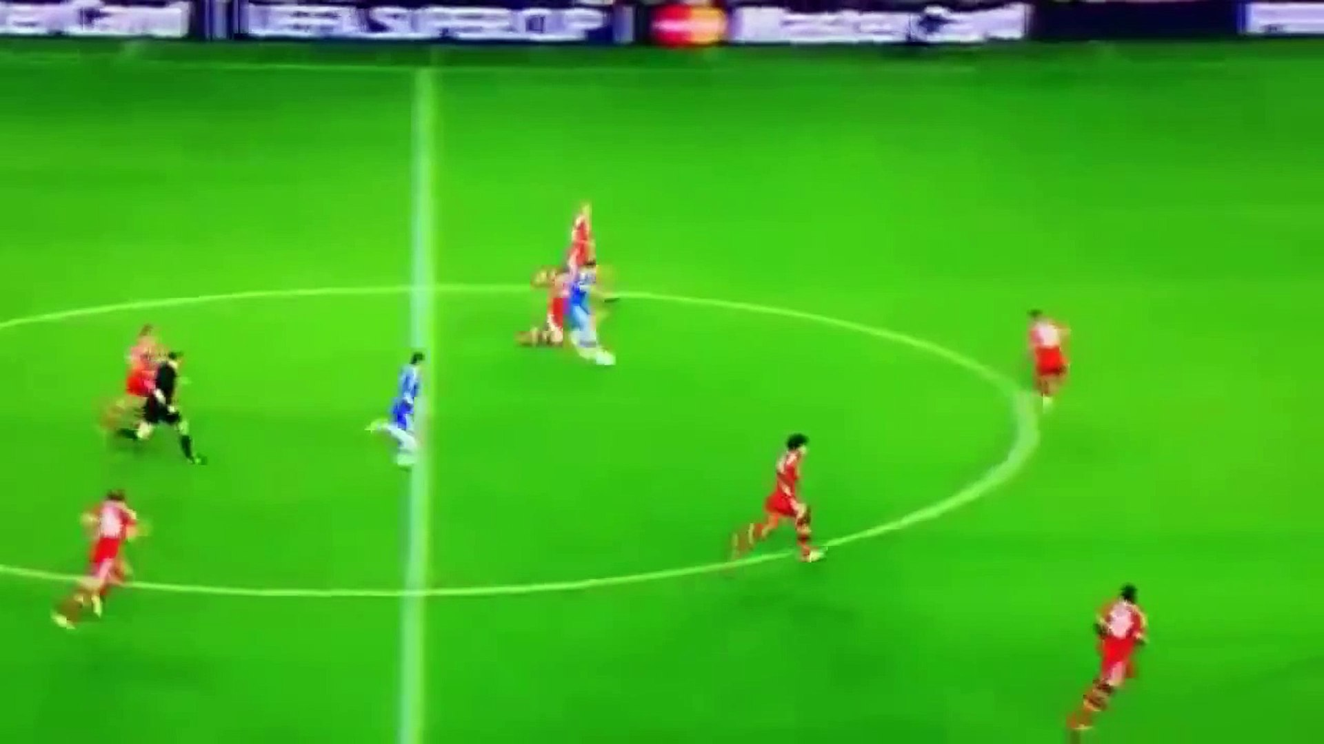 Analysis goal Torres vs Bayern. Super Cup UEFA