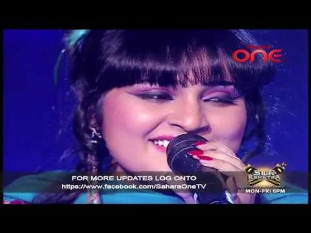 Baahon Mein Chalo Aao song by Sara Raza Khan in Sur Kshetra on Sahara One
