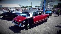 La Citroën DS fête ses 60 ans à Montlhéry sur 3 roues