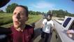 Coup surprise pendant un road rage