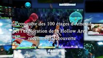 Sword Art Online- Hollow Fragment - Ps Vita - Survive to SAO (Japan Expo 2014 French Trailer)