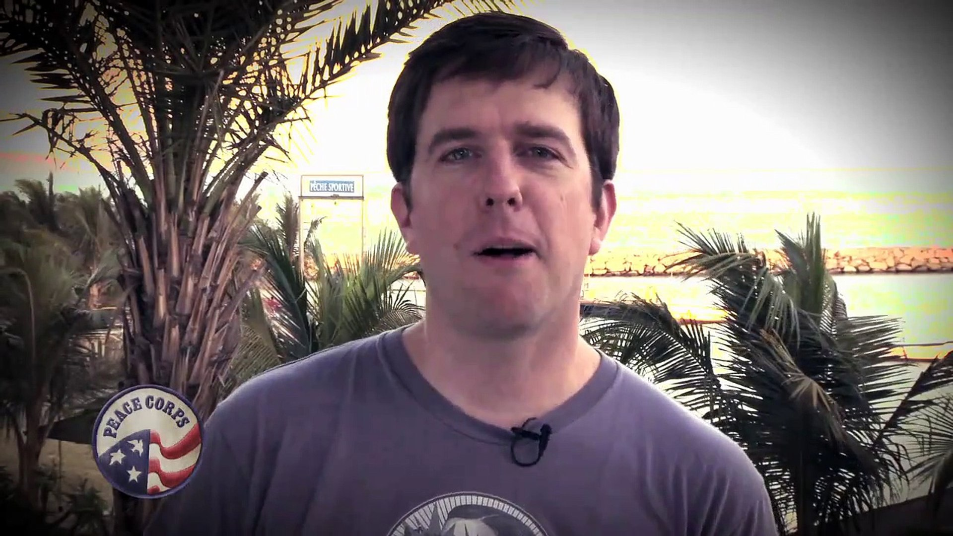 Ed Helms Gives a Shout Out to Peace Corps Volunteers Fighting Malaria in Senegal