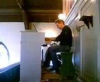 Orgel og sang om Jesus grav fra Tvedstrand kirke
