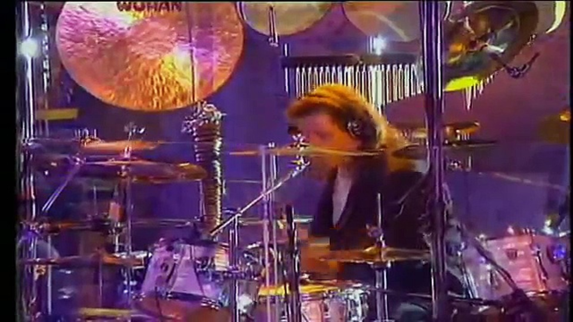 Charlie Adams Drums Solo Yanni Live at Acropolis 1994