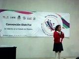 8vo parlamento de niñas y niñas 2011 Sharon Belem Diaz congreso