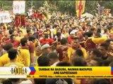 Black Nazarene devotees leave behind piles of garbage