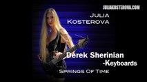 New Prog Metal EP ft. Derek Sherinian (ex-Dream Theater)- Julia Kosterova-Springs Of Time