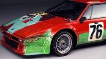 BMW Art Cars Collection - revised Andy Warhol 1979 - BMW Art Car Andy Warhol. Studio shots