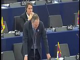 EU contempt for Free Speech !!! UKIP MEP William Earl of Dartmouth has Microphone turned off !