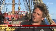 Frégate Hermione : La Traversée dans l'Atlantique (Vendée)