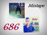 Mr Lonély Ft 9ahr - Contre attaque - Clach Zaw flow - Mixtape 686-Rap Maroc-2015-Kasba Tadla