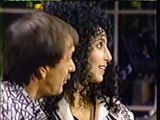 "SONNY AND CHER sing ""I GOT YOU, BABE"" on David Letterman 1980's  late night"