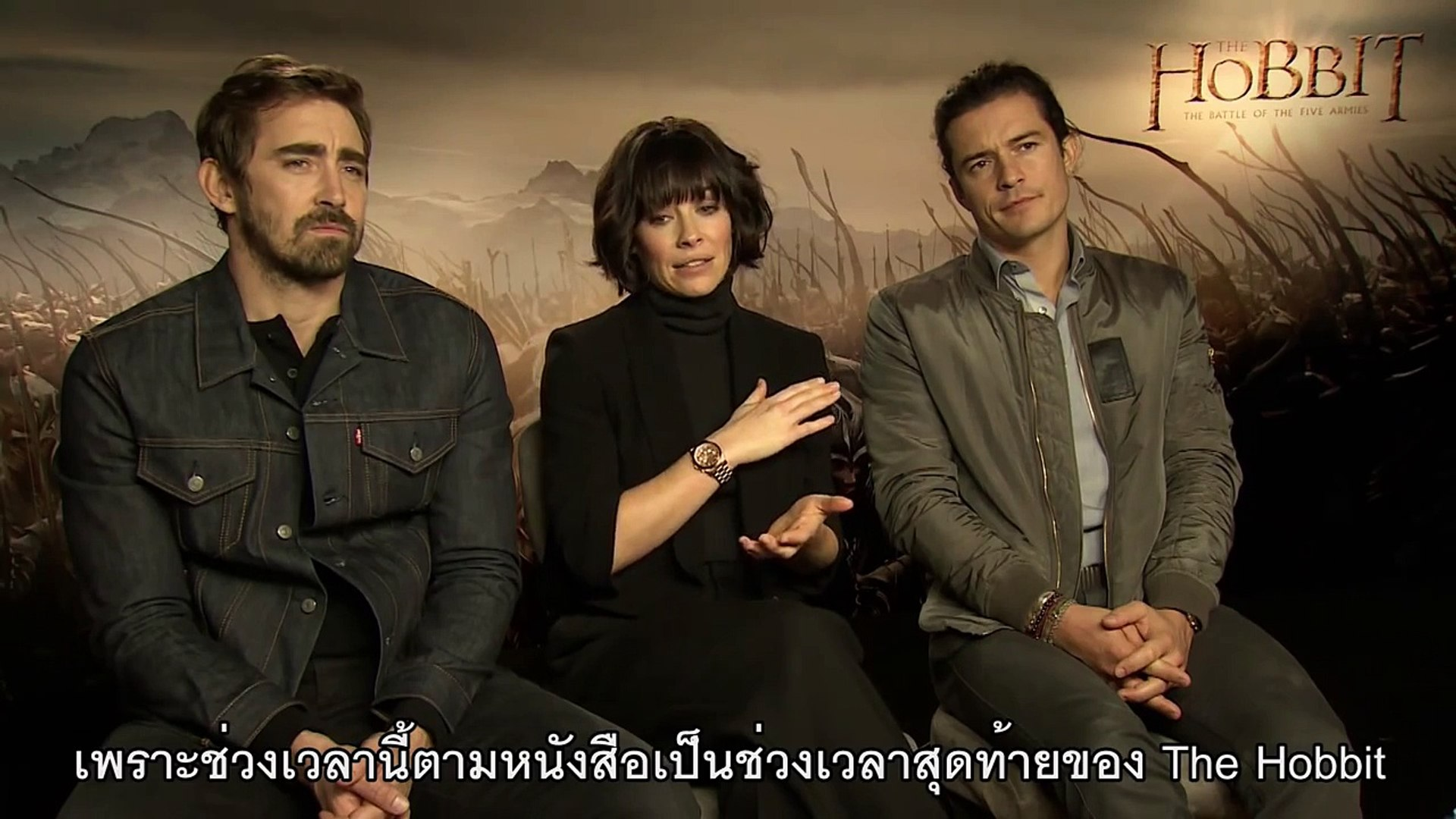 The Hobbit: The Battle of The Five Armies - Orlando Bloom, Evangeline Lilly Lee Pace (ซับไทย)