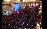 François Hollande reçoit Kabila et au moins 40 chefs d'États au palais de l'Elysée.
