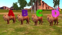 Animals ABC Song for Baby | Cartoon Animals Abc Learning Children Nurser Rhymes