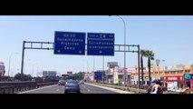 Nuevo acceso sur al aeropuerto de Málaga / Salidas (dirección Málaga-Cádiz)