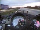 Honda CBR 1100XX 300 Kmh on Autobahn-Germany
