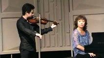 MaiKe violin solo recital santa barbara montecito music festival summer 2011