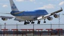 KLM , Royal Jordanian , Air France & Lufthansa / Chicago O'Hare / Plane Spotting / Landings