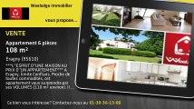 Vente - appartement - Eragny - 108m²