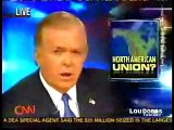 """Lou Dobbs reports on the emerging """"North American Union"""". It's real, it's happening!"""