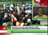 'Don't Attack Iran!' Nationwide anti-war protest held in UK
