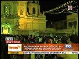 Black Nazarene devotees troop to Quiapo Church