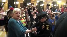 Raging Grannies Arrested for singing in Wisconsin Capitol