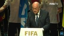 Sepp Blatter Addresses FIFA Congress Amid Corruption Allegations