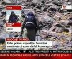 Expediţia a şase alpinişti români în Anzi, blocată de zăpadă