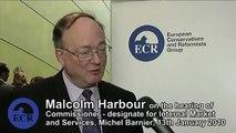 Malcolm Harbour on Michel Barnier