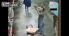 Man Catches Baby Falling from Window