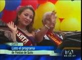 Calendario de actividades Fiestas de Quito 2012