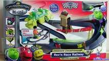 Chuggington Chugger Championship Rev and Race Railway Playset deluxe track review