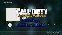 Nike Logo Emblem Tutorial: Call Of Duty Advanced Warfare Emblem Tutorial (Easy) GloW PomPi