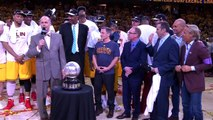 Presentation Of The Eastern Conference Championship Trophy _ May 26, 2015 _ 2015 NBA Playoffs