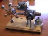 stirling engine-gama,moteur Stirling ,stirling motor,