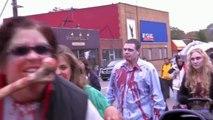 Detroit Zombie Walk 2012 ( World Zombie Day Royal Oak ) Detroit's Walking Dead