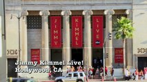 Jimmy Kimmel and Kenny Mayne lock horns in a battle of wills