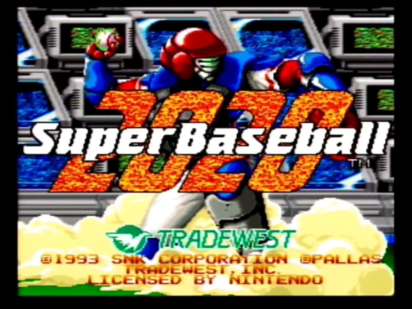 Super Baseball 2020 Review - Definitive 50 SNES Game #49