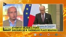 Six attentats ont été déjoués en France depuis janvier