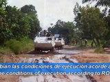 SOLDADOS URUGUAYOS  EN EL CONGO RESCATAN EMBAJADOR DE ESPAÑA/15th Inf.Mech.Batt (URUGUAY) in PKO