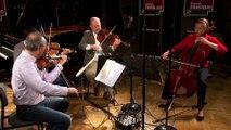 Andantino du Quatuor de Debussy par le Quatuor Ludwig | le Live du Magazine